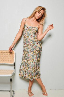 Rania slip dress