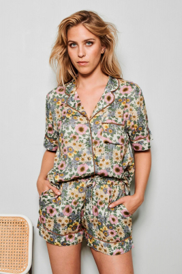 Rania shorts blomster