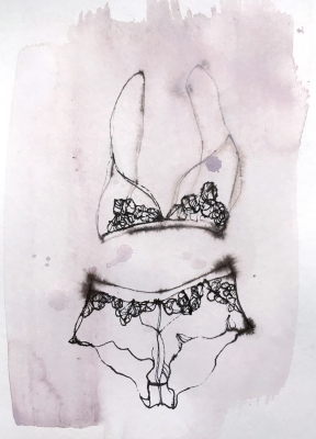 Toril Bækmark Lingerie art