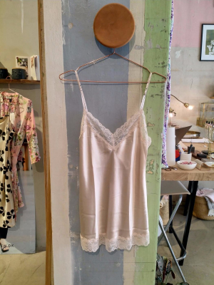 Another View Blonde Silke Top