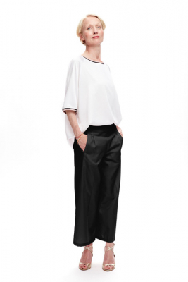 Culotta Wool Pants Black