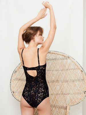 Lace soft bodystocking